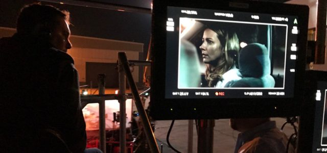 "Photo: Amy Acker Filming FOX's X-Men ""Gifted"" Pilot"