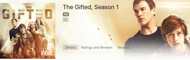 The Gifted Season 1: Get Your iTunes Season Pass!